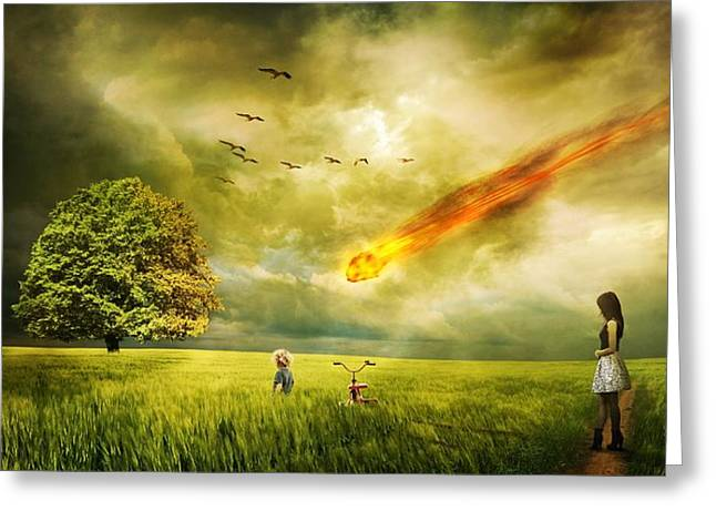 Doomsday Greeting Card by FL collection
