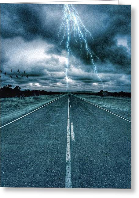 Doomsday Road Greeting Card