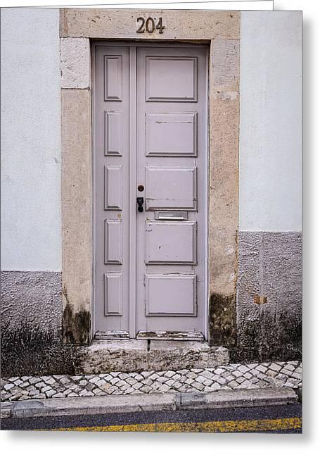 Door No 204 Greeting Card