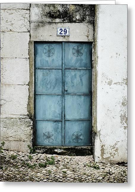 Door No 29 Greeting Card