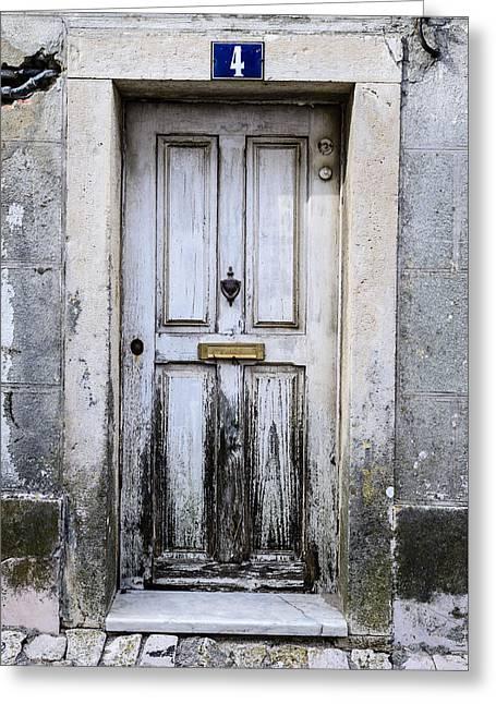 Door No 4 Greeting Card