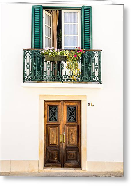 Door No 51a Greeting Card by Marco Oliveira