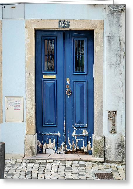 Door No 67 Greeting Card by Marco Oliveira