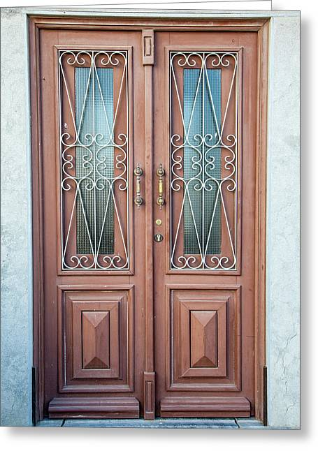 Door Of Algarve Greeting Card