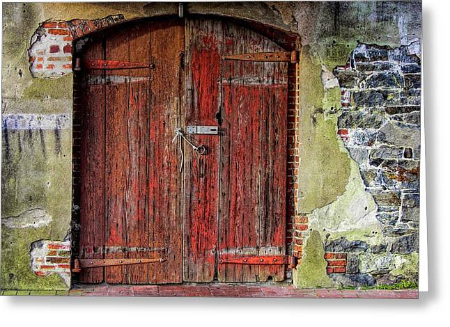 Door To Discovery Greeting Card by JAMART Photography