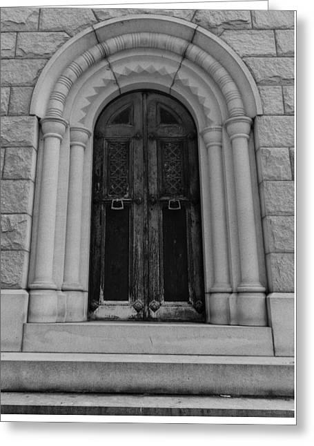 Door To Eternity Greeting Card by Denise McKay