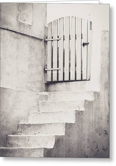 Door To Nowhere. Greeting Card