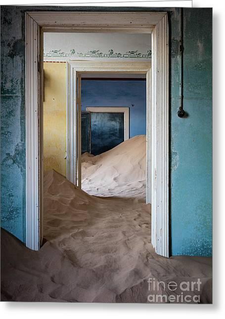 Door Within A Door Within A Door Greeting Card by Inge Johnsson