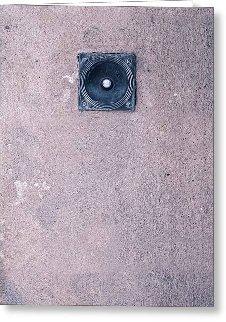 Doorbell Greeting Card by Joana Kruse