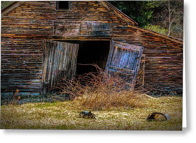 Doors Left Open Greeting Card by Bob Orsillo