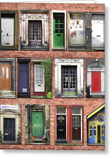 Doors Of England I Greeting Card