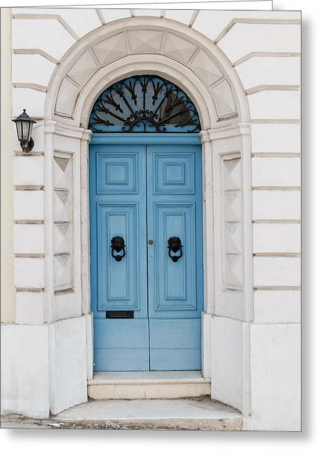Doors Of The World 68 Greeting Card