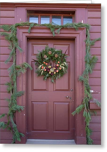 Doors Of Williamsburg 108 Greeting Card