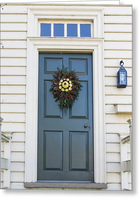 Doors Of Williamsburg 79 Greeting Card