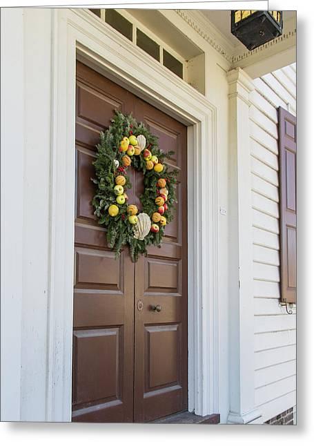 Doors Of Williamsburg 89 Greeting Card
