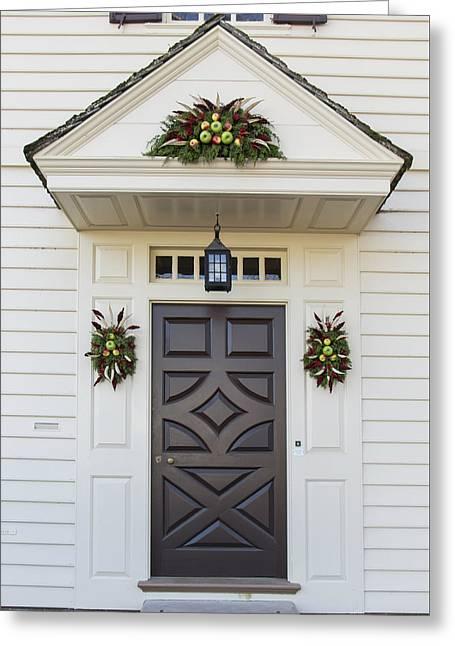 Doors Of Williamsburg 94 Greeting Card