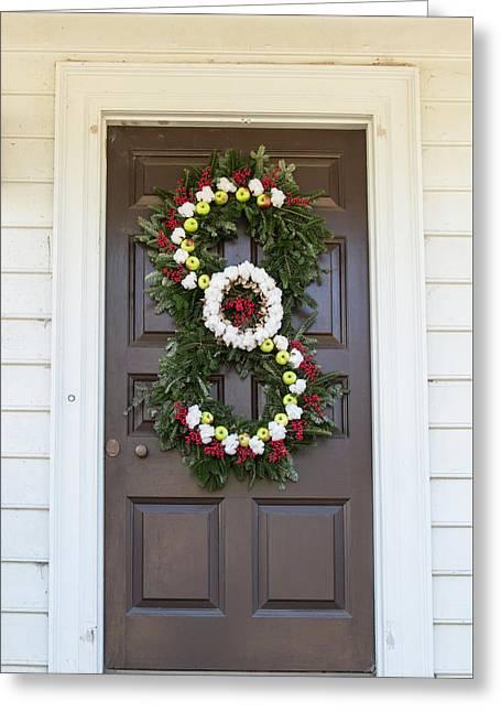 Doors Of Williamsburg 97 Greeting Card by Teresa Mucha