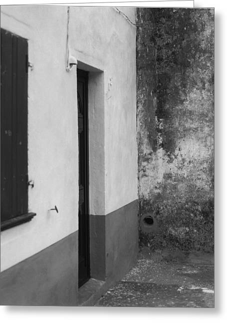 Doorway - Sao Miguel - Azores Greeting Card by Henry Krauzyk