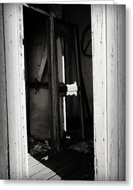 Doorway In Cuervo Greeting Card