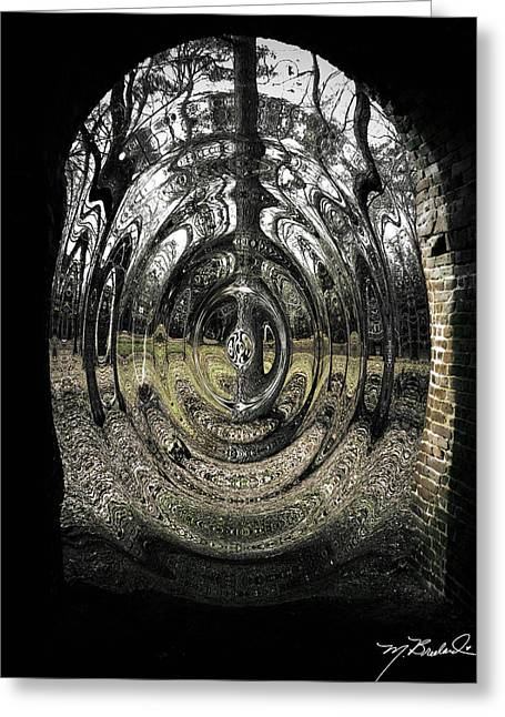 Doorway Greeting Card by Melissa Wyatt