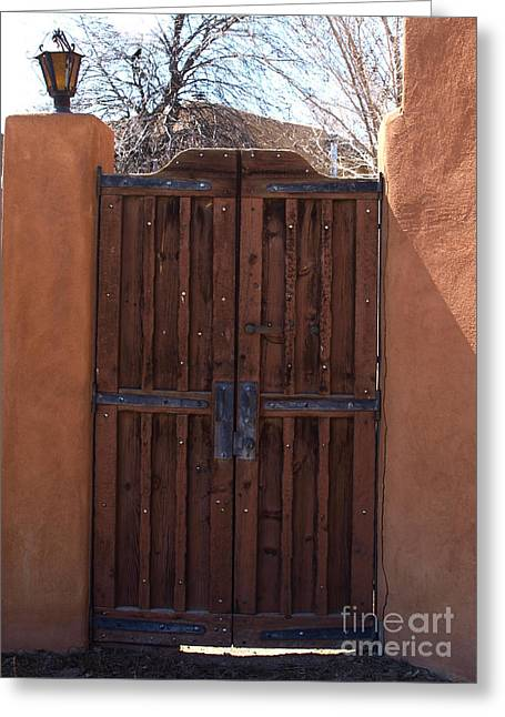 Doorway New Mexico Greeting Card