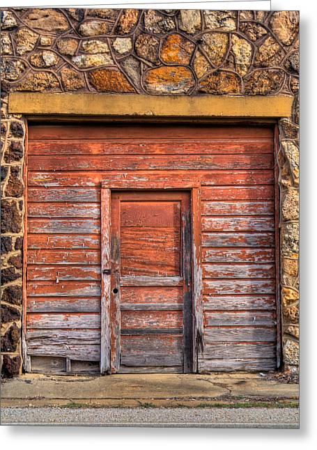 Doorway Of The Past Greeting Card by Douglas Barnett