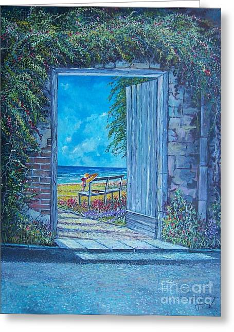 Doorway To ... Greeting Card
