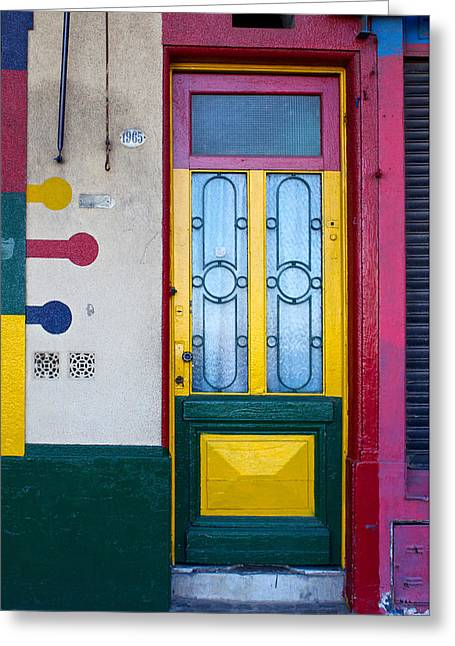 Doors Of San Telmo, Argentina Greeting Card