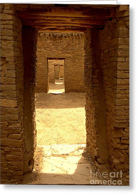Doorways Of The Ancients Greeting Card