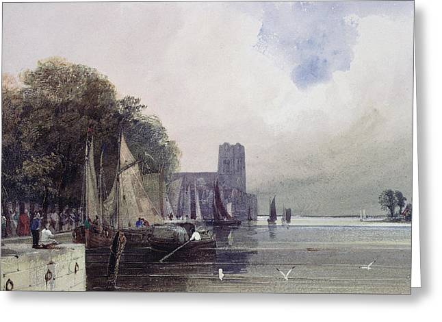 Dordrecht Greeting Card by Thomas Shotter Boys