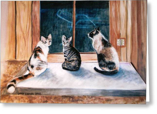 Doreen's Cats Greeting Card