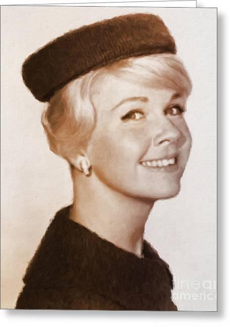 Doris Day, Hollywood Legend Greeting Card