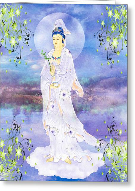 Doro Guanyin 1 Greeting Card by Lanjee Chee