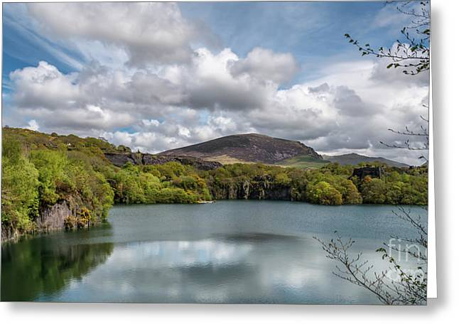 Dorothea Quarry Greeting Card by Adrian Evans