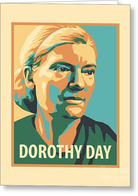 Dorothy Day, 1938 - Jldyd Greeting Card