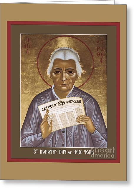 Dorothy Day Of New York - Rldrd Greeting Card