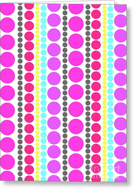 Dots Greeting Card by Louisa Knight