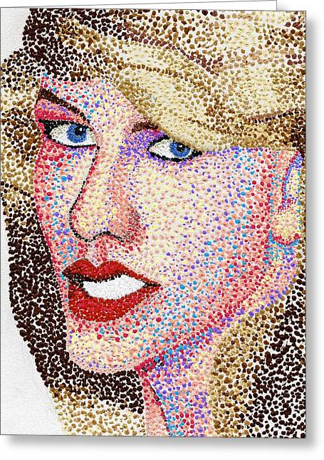 Dotted Greeting Card by Andrew Fisher