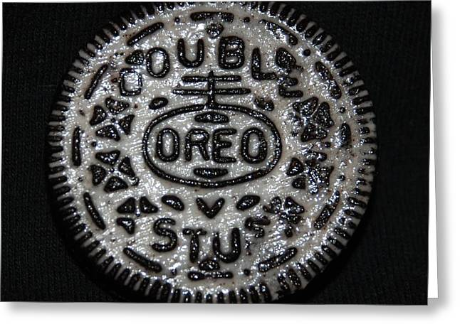 Double Stuff Oreo Greeting Card by Rob Hans