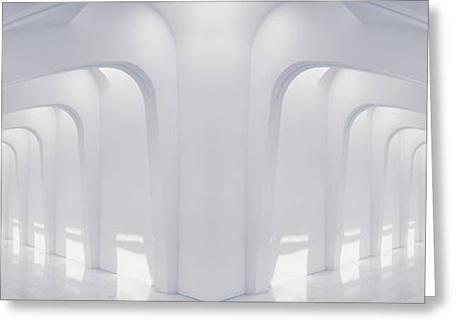 Doubled Arches Greeting Card