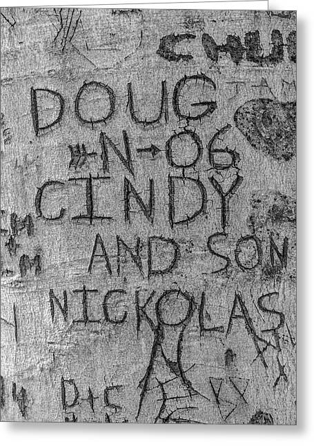 Doug And Cindy Greeting Card