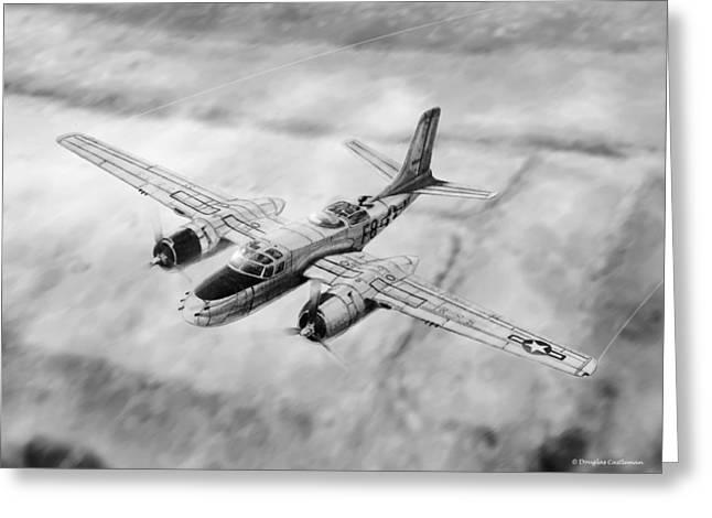 Douglas A-26 Invader Greeting Card