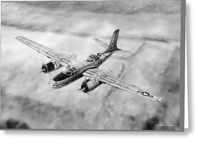 Douglas A-26 Invader Greeting Card