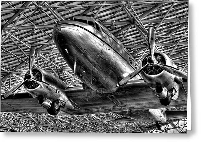 Douglas Dc-3 Greeting Card