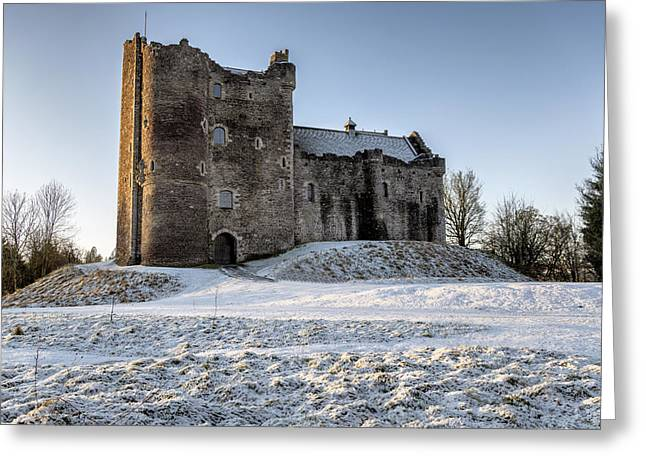 Doune Castle In Central Scotland Greeting Card by Jeremy Lavender Photography