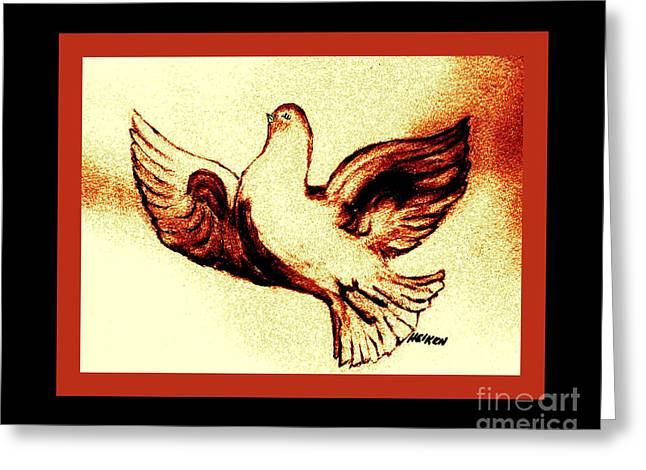 Dove Of Love Greeting Card
