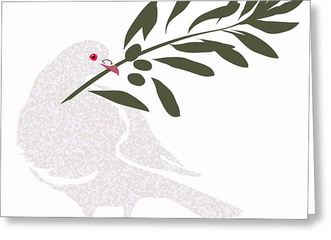 Dove Of Peace Greeting Card