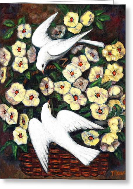 Dove Play Greeting Card