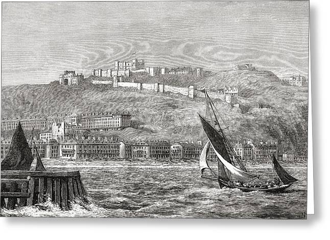 Dover, Kent, South East England, Seen Greeting Card