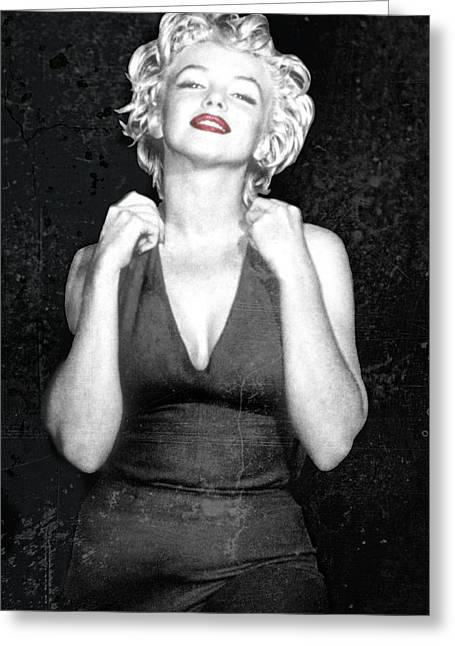 Down And Dirty Marilyn Greeting Card